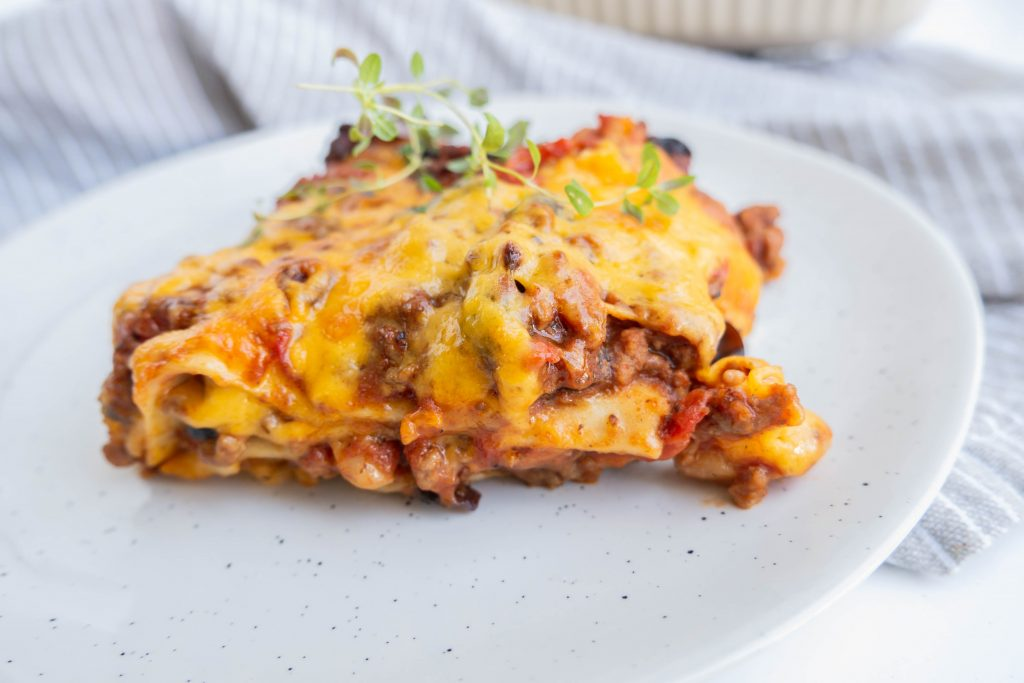 Mexicansk lasagne