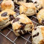 scones med chokolade opskrift