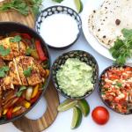 Fajitas med hjemmelavede tortillas – Mexicansk mad
