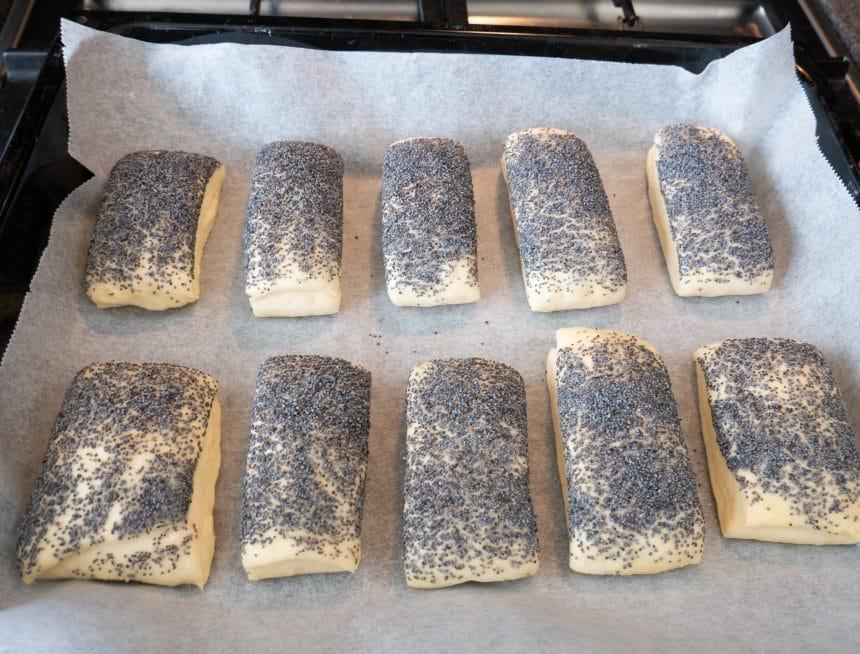 tebirkes inden bagning