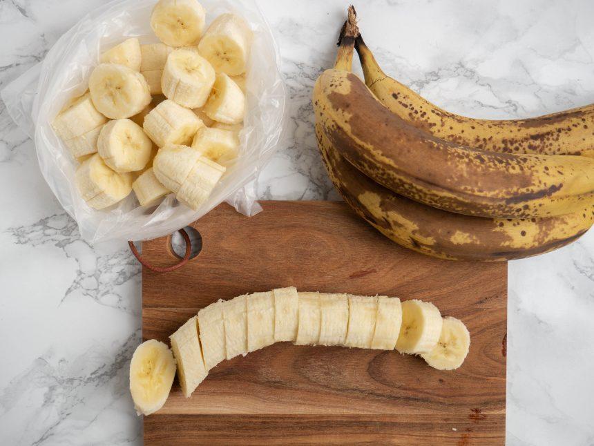 Sådan fryser du bananer