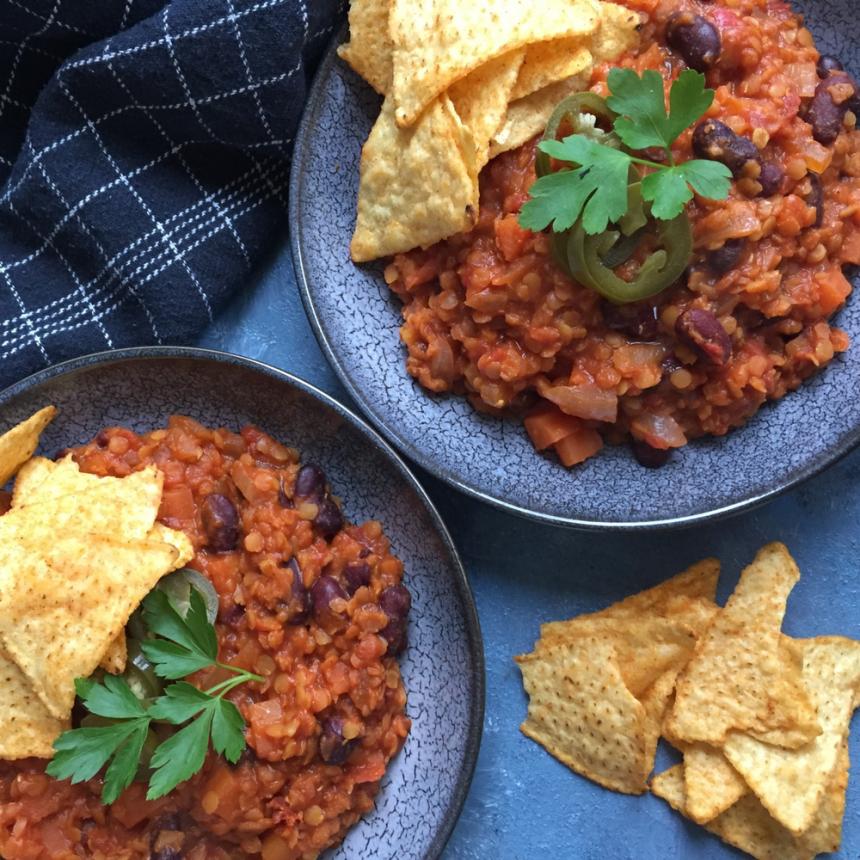 Chili sin carne – Vegetarisk gryderet