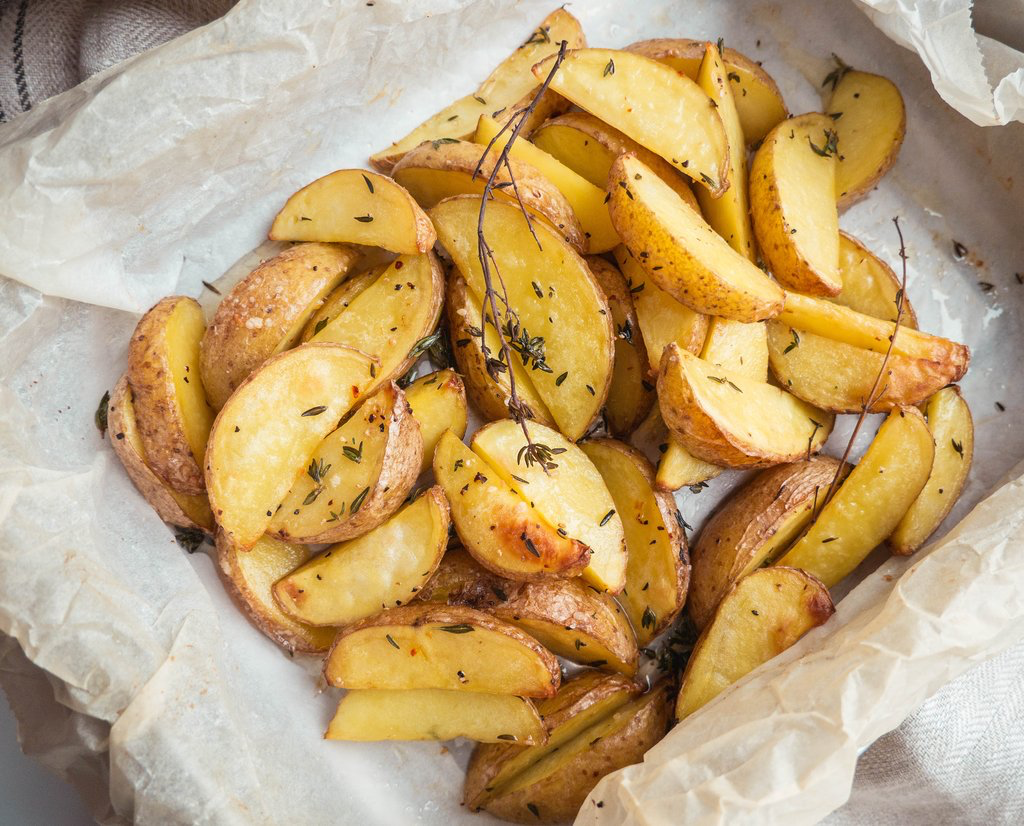 Timiankartofler – Bagte kartofler i ovn