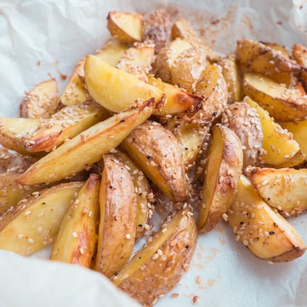 Sesamkartofler – Kartofler bagt i ovn