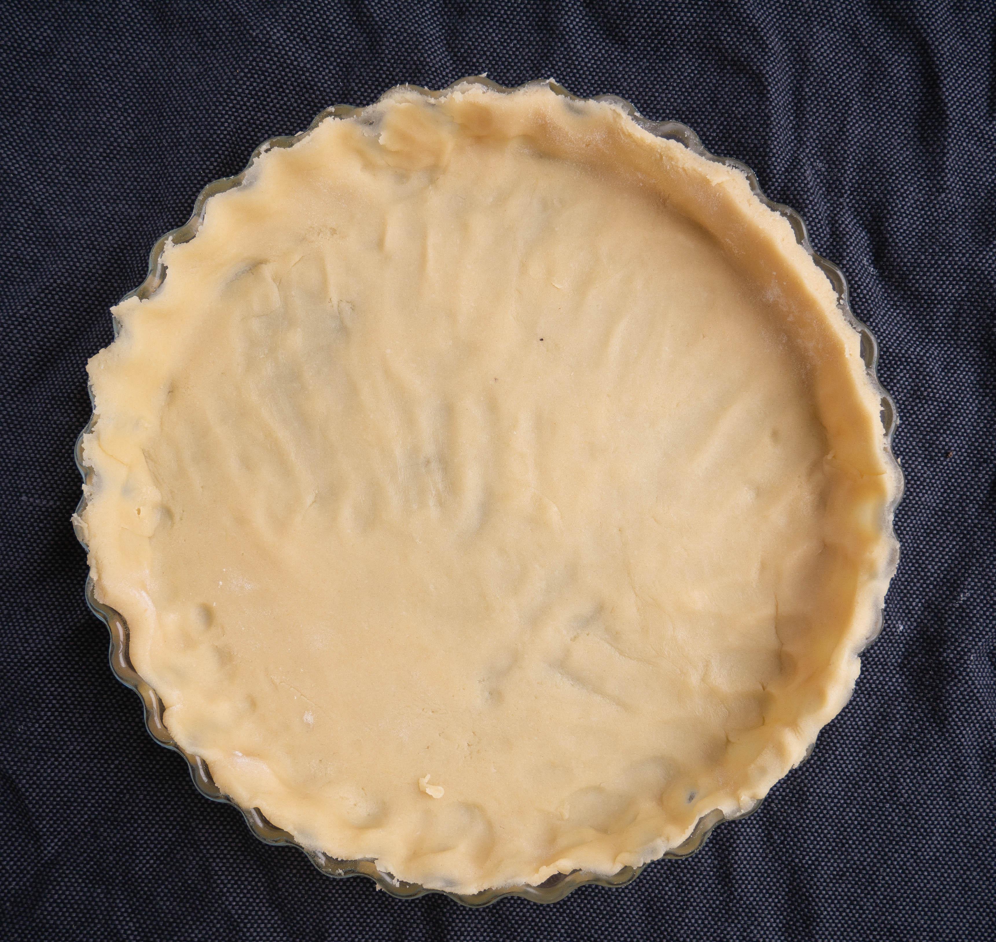 Mørdejsbund til valnøddetærte