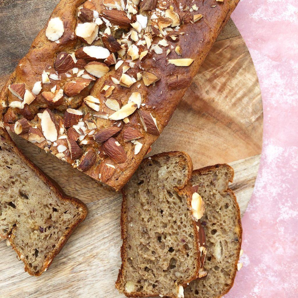 Bananbrød uden sukker - opskrift på sundt bananbrød
