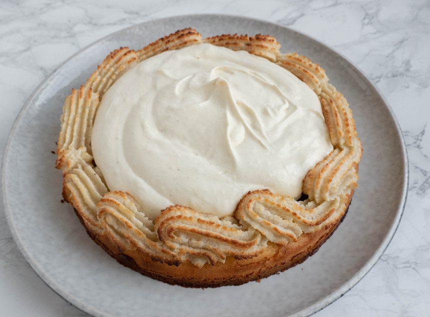 Tærte med vaniljecreme