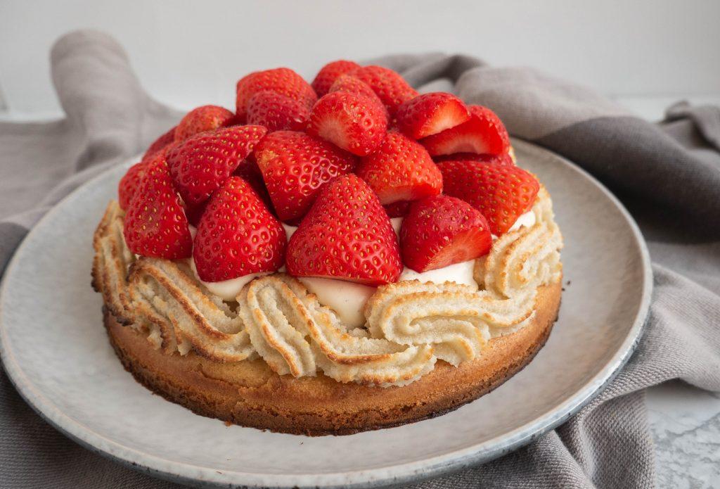 Den bedste jordbærtærte