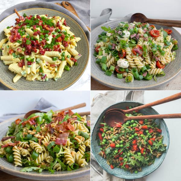 5 opskrifter på pastasalater