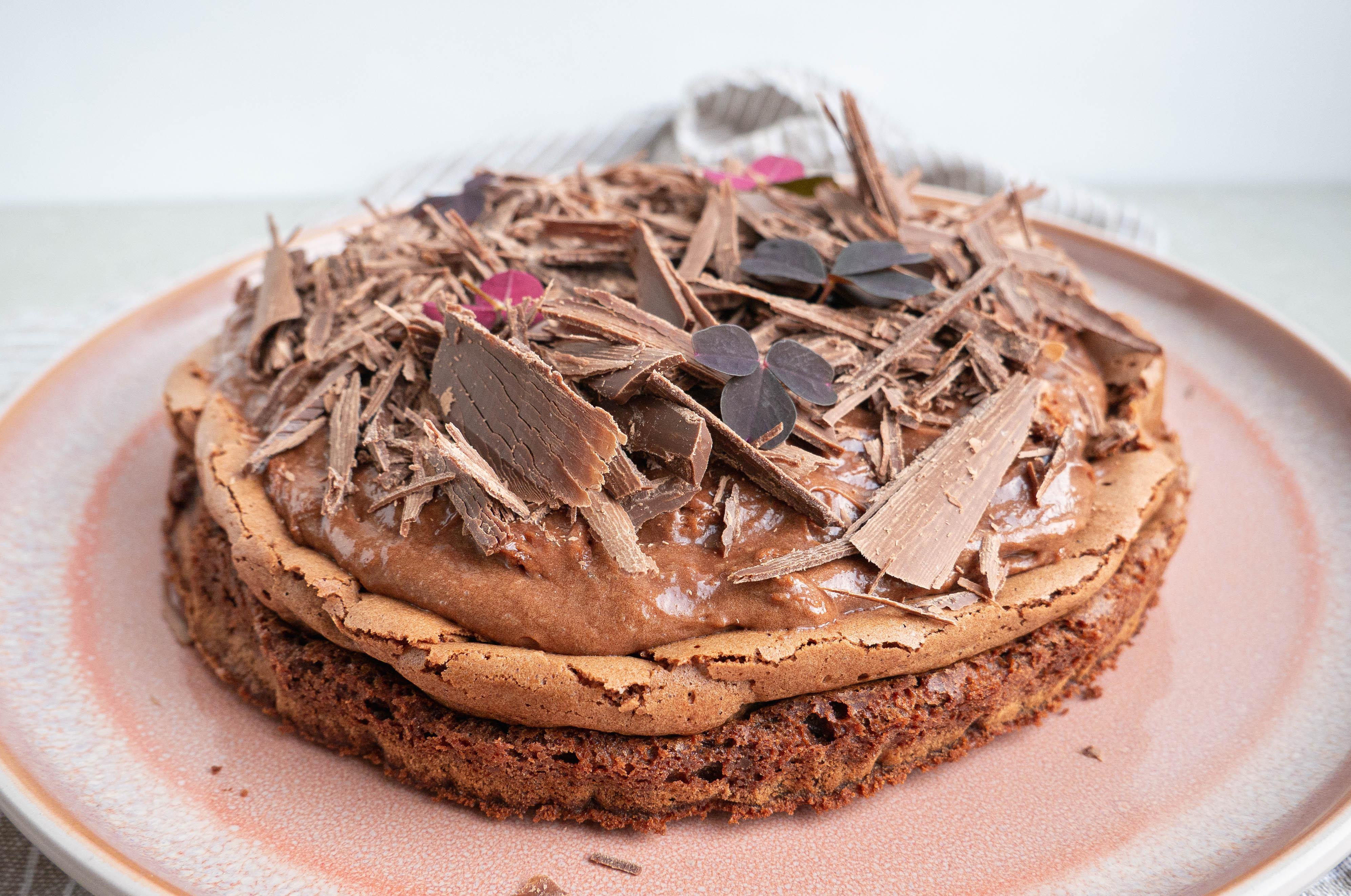 Gateau Marcel - fransk chokoladekage opskrift
