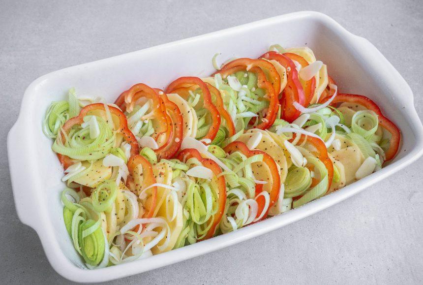 Koteletter i fad på grøntsagsbund6