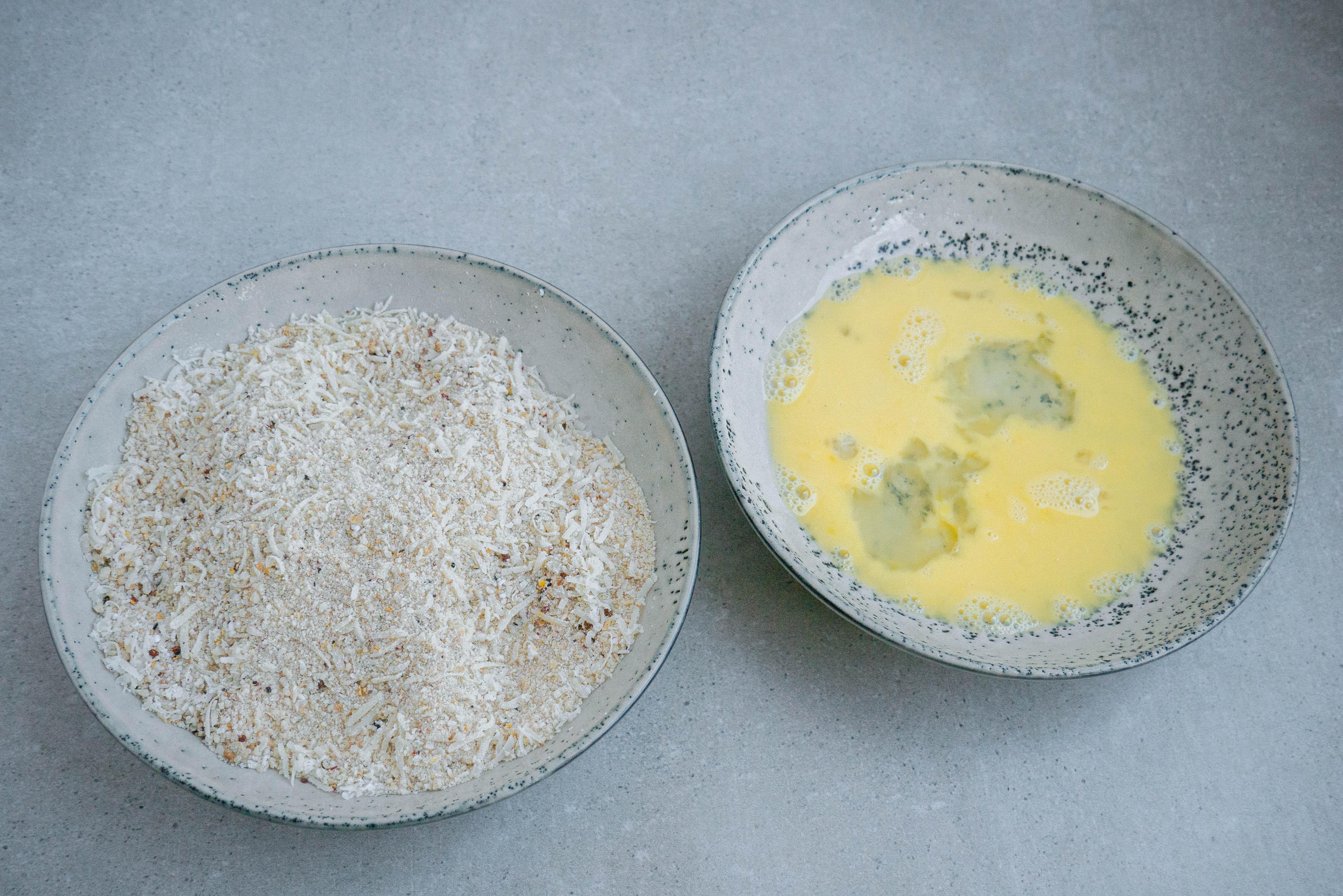 Pankorasp og æg