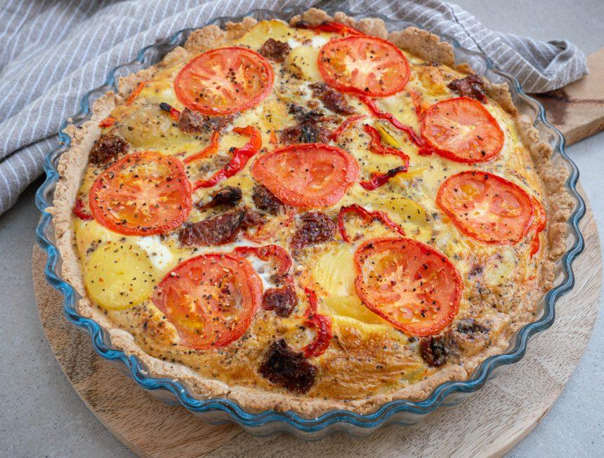Vegetarisk tærte