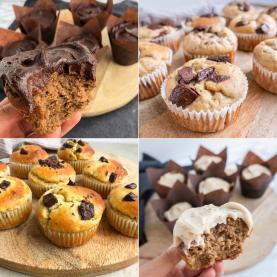 5 sunde muffins