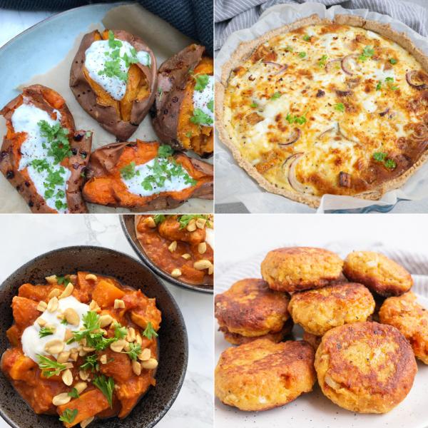 5 opskrifter med søde kartofler