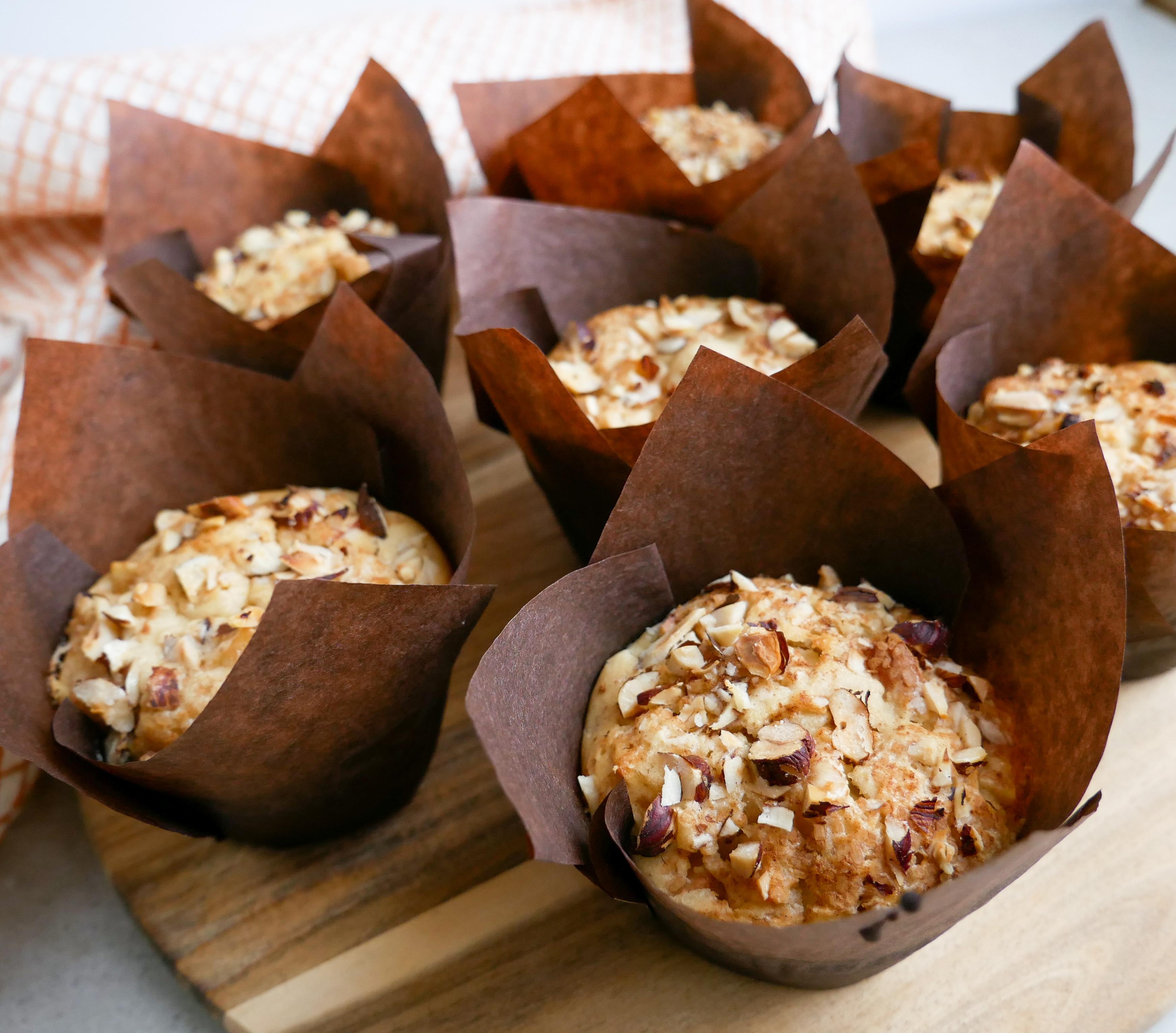 Muffins med æble