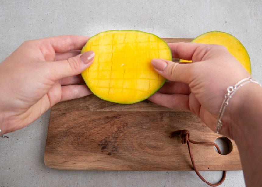 Sådan skærer du en mango