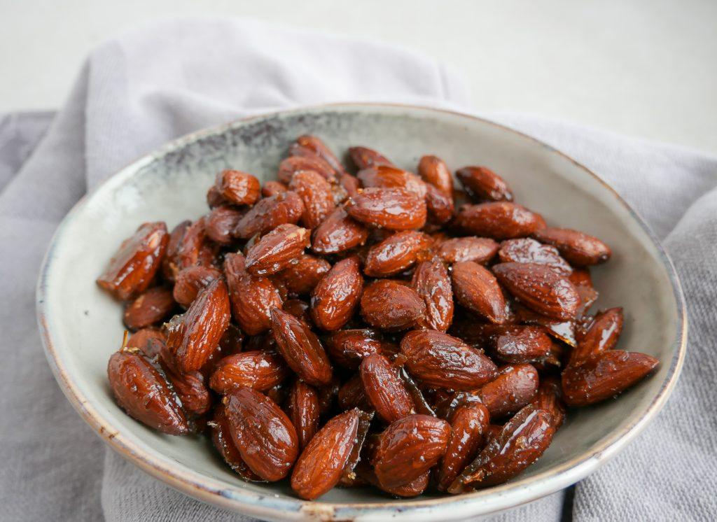 honningristede mandler