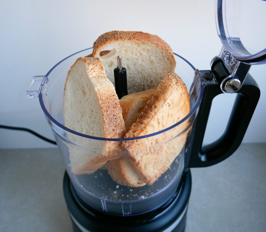 brød i foodprocessor
