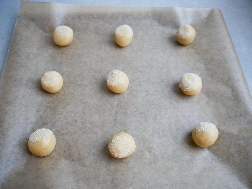 ingefærsmåkager inden bagning