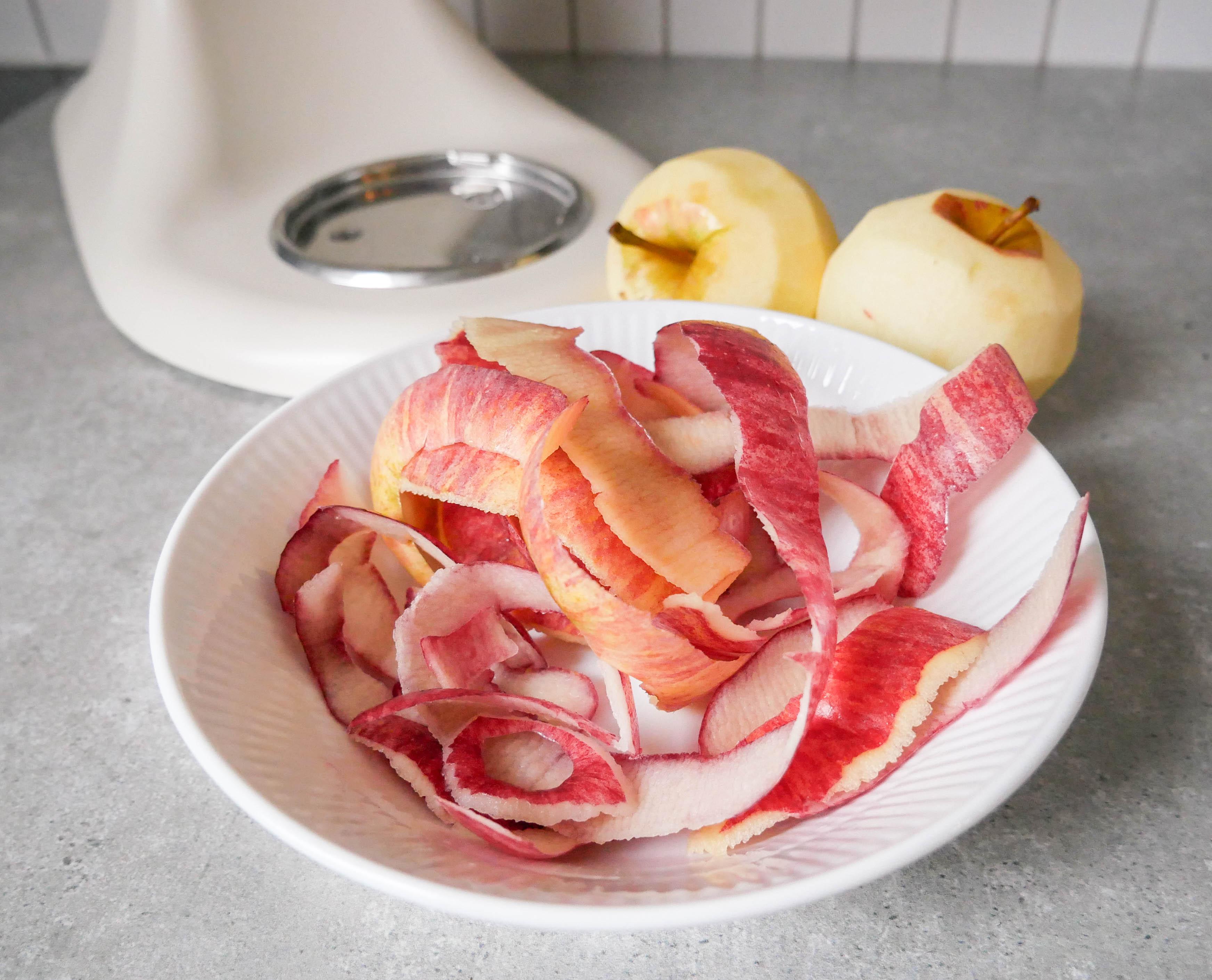 æbleskræl stop madspild af frugt og grønt