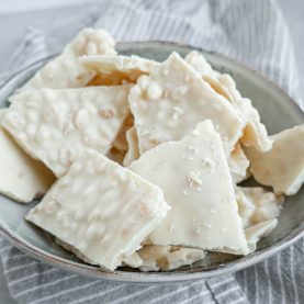 Hvid chokolade crunch