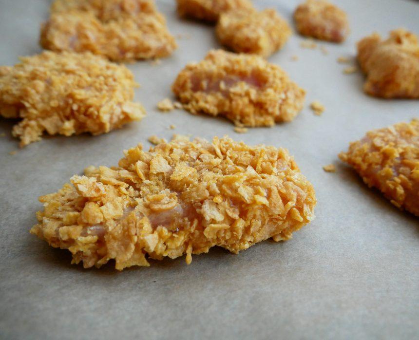 kylling i cornflakes