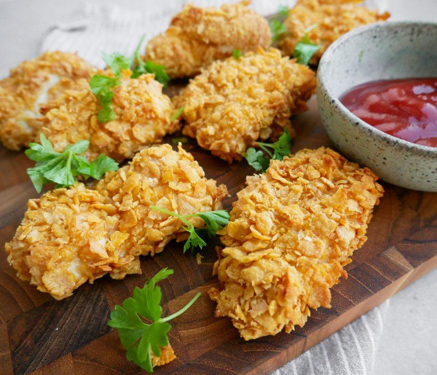 kylling med cornflakes