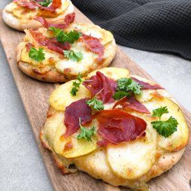 pitapizza med kartofler