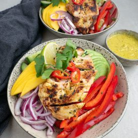 Salatbowl med mangokylling