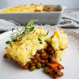 vegetarisk shepherds pie