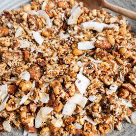 Sund granola med kokos