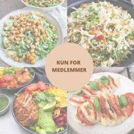Sund madplan for uge 27 for medlemmer