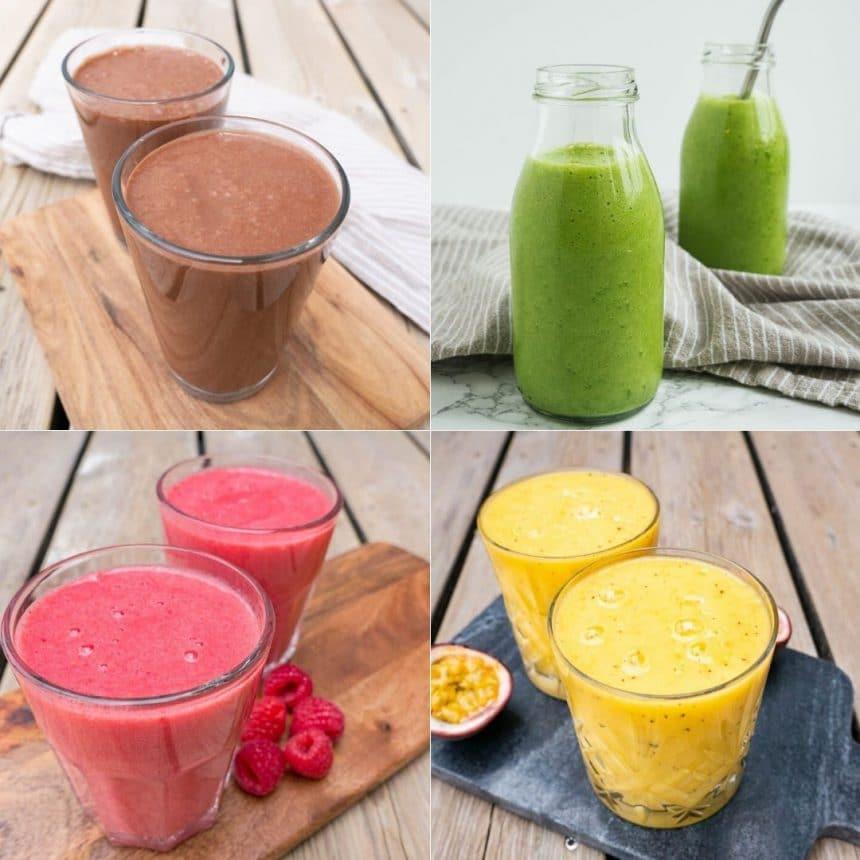 5 nemme og sunde smoothies