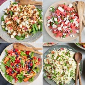5 Sommersalater med frugt