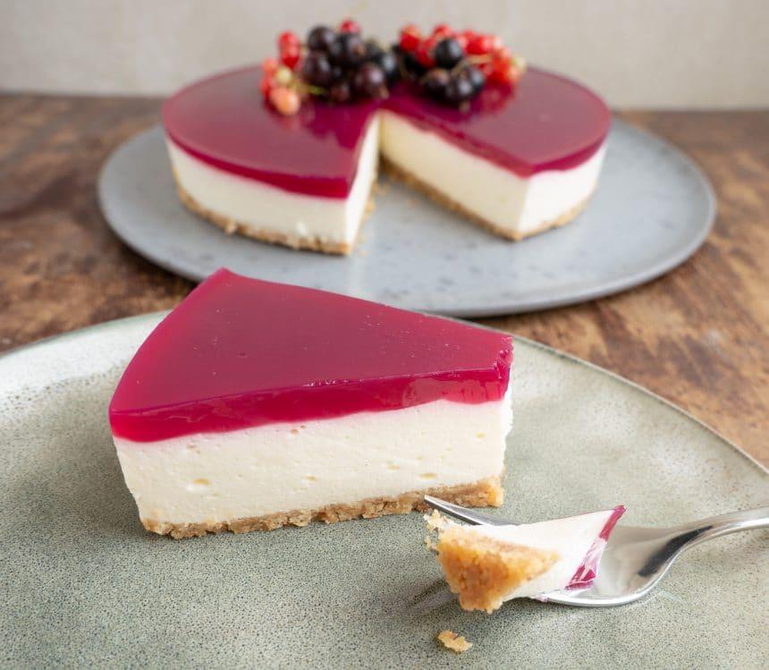 Nem og lækker opskrift på solbærcheesecake