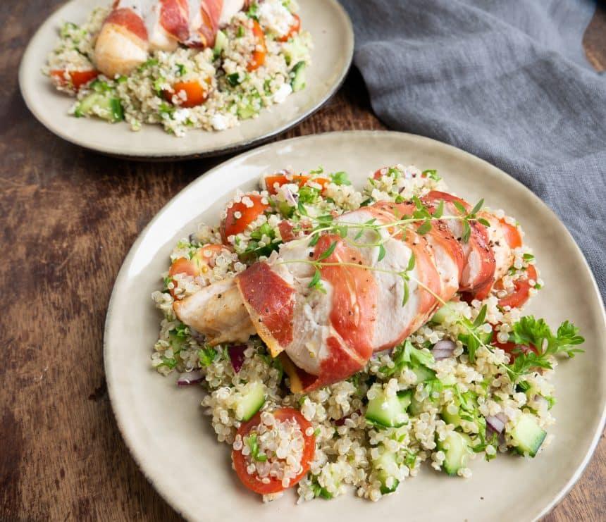 Quinoasalat med kylling