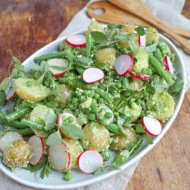 Sommer-kartoffelsalat