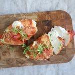 Opskrift på fyldt kylling med serranoskinke