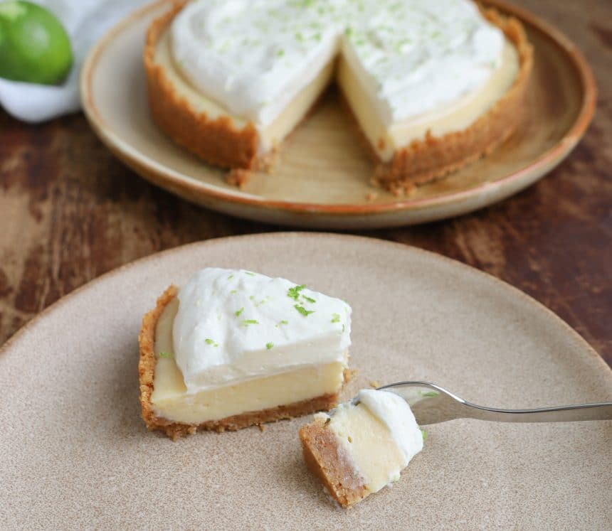 Opskrift på Key Lime pie