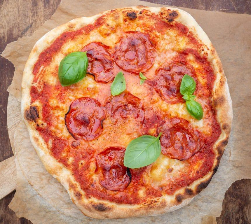 Opskrift på pizza med chorizo