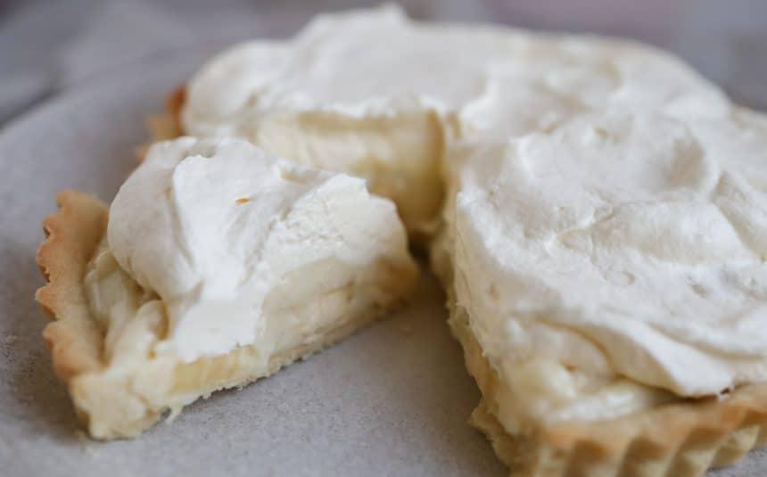 Opskrift på banana cream pie