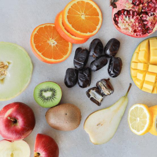 Blandet frugter