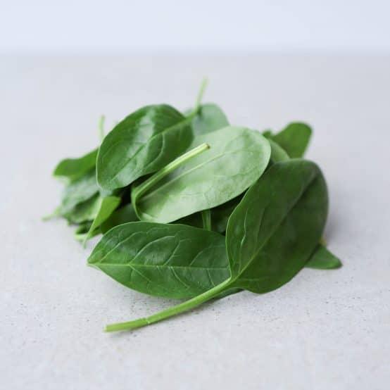 Opskrifter med frisk spinat