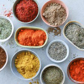 Blandet krydderier