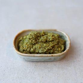 Opskrifter med grøn pesto