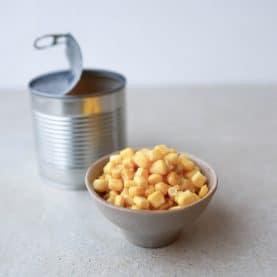 Opskrifter med majs på dåse