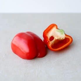 Opskrifter med rød peberfrugt