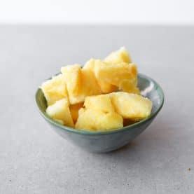 frossen ananas