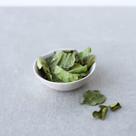 Opskrifter med tørrede limeblade